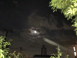 満月と光その1