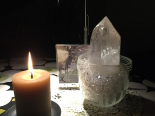 満月の水晶